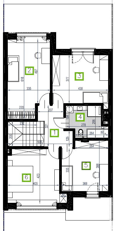 Segment A, piętro, 83,79 m2