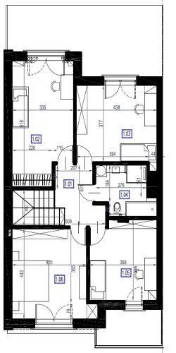 A2 - piętro, 83,78 m2