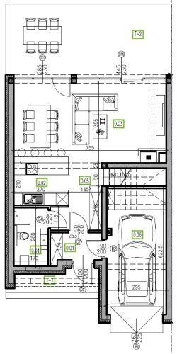 E13 - parter, 66,81 m2