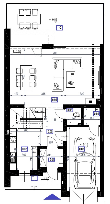 A3 - parter, 79,68 m2