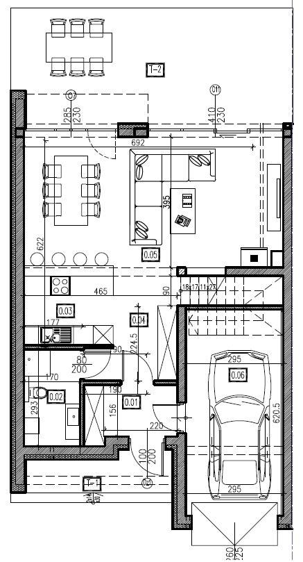 D1 - parter, 72,74 m2