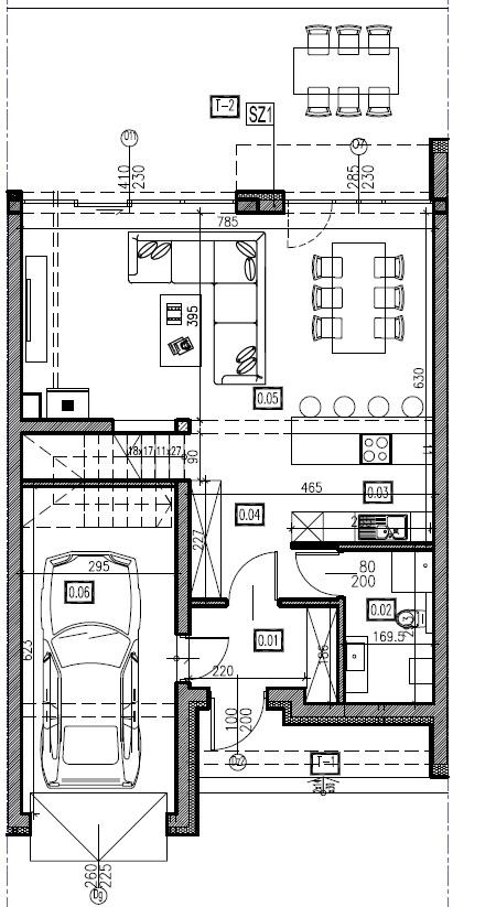D2 - parter, 72,74 m2