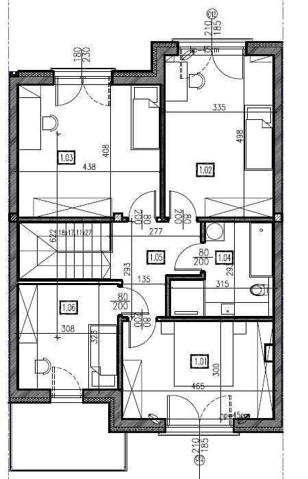 D2 - piętro, 74,44 m2