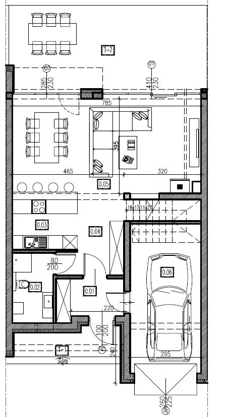 D3 - parter, 72,74 m2