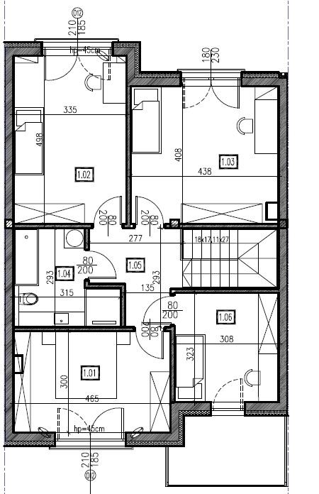 D3 - piętro, 74,44 m2