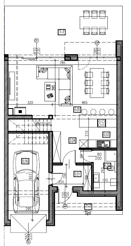 D6 - parter, 72,74 m2