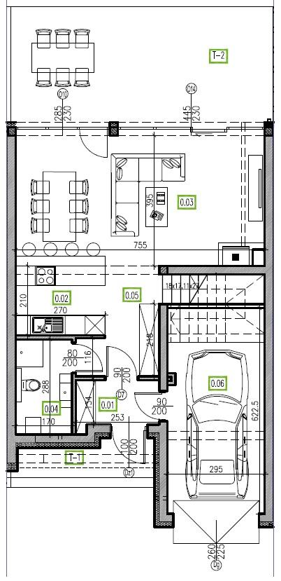 E10 - parter, 66,81 m2