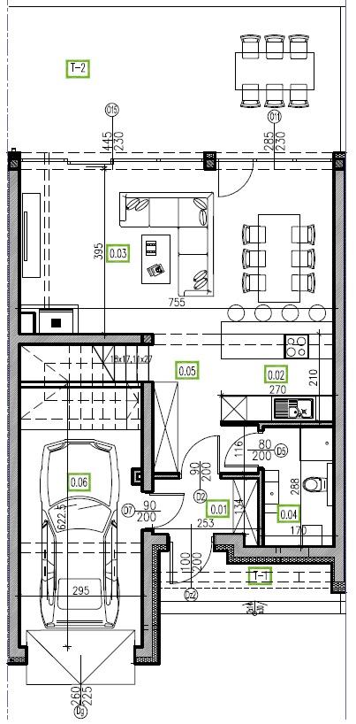 E11 - parter, 66,81 m2