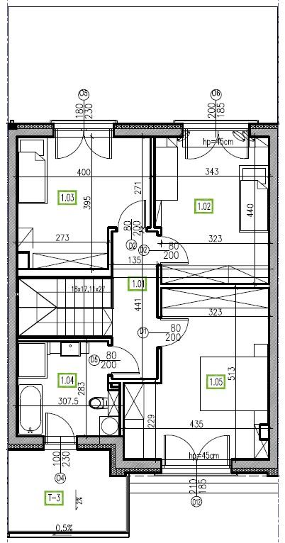 E11 - piętro, 64,48 m2