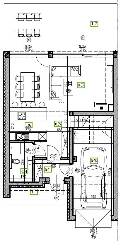E12 - parter, 66,81 m2