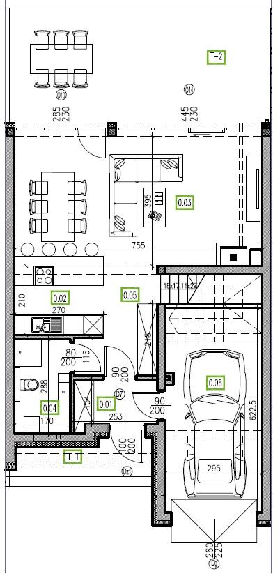E15 - parter, 66,81 m2