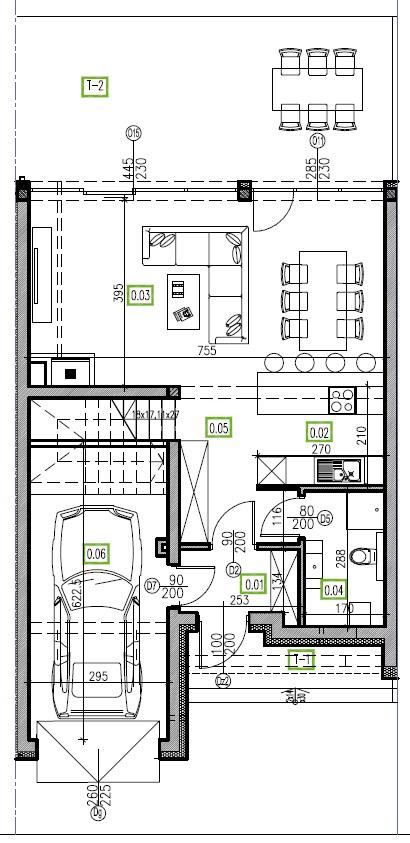 E2 - parter, 66,81 m2