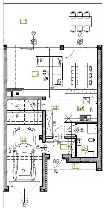 E4 - parter, 66,81 m2