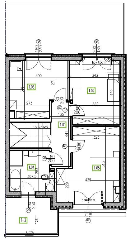 E4 - piętro, 64,48 m2