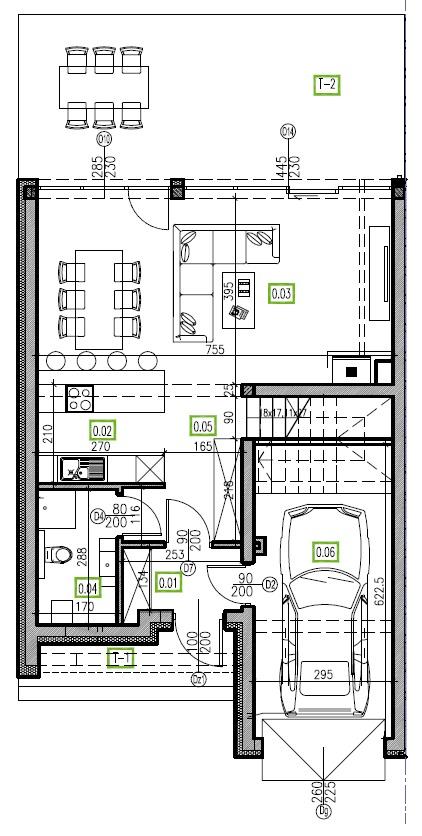 E5 - parter, 66,81 m2