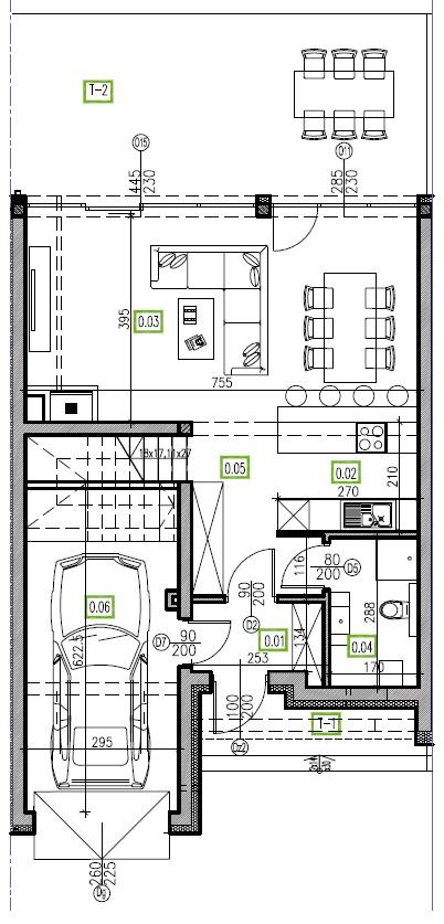 E6 - parter, 66,81 m2