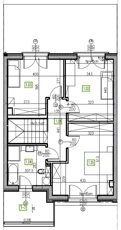 E6 - piętro, 64,48 m2
