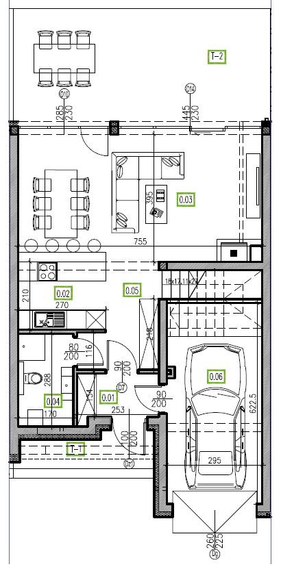 E7 - parter, 66,81 m2