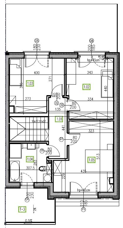 E9 - piętro, 64,48 m2